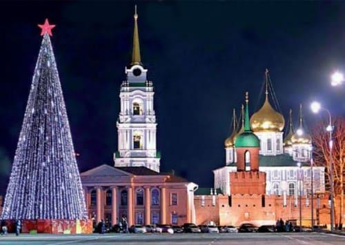 Новогодняя столица России в 2019 году в 2019 году
