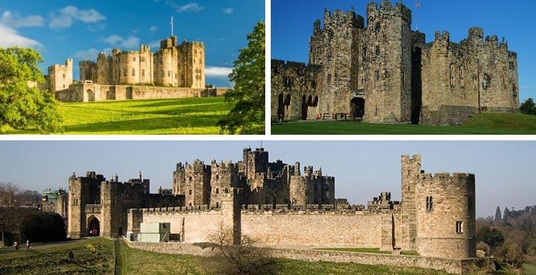 Замок Алник (Alnwick Castle)