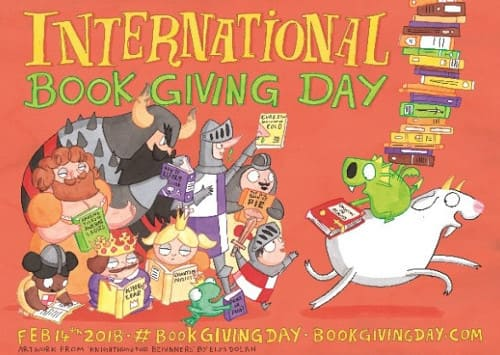 Международный день дарения книг (International Book Giving Day) 14 февраля