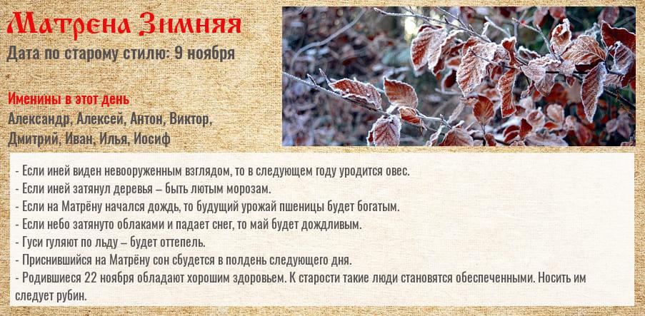 Матрена Зимняя