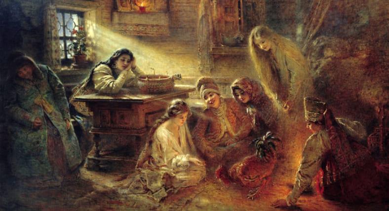 Крещенские гадания дома, что и как надо делать | Гадаем в Крещенскую ночь