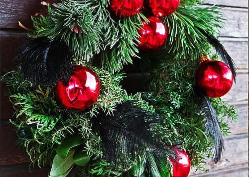 r_venok8 Простой рождественский венок своими руками