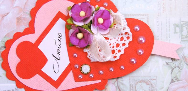 Сделай валентинку своими руками из бумаги — признайся в любви оригинально