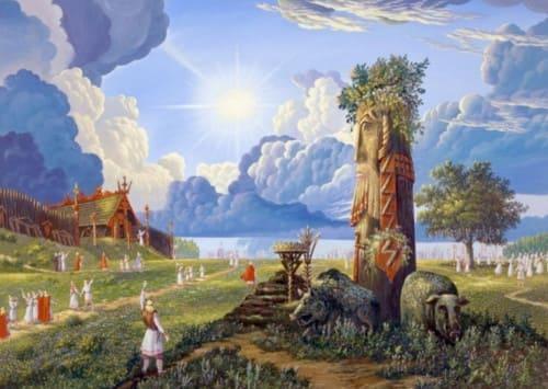 Славянский гороскоп по годам | Тотемный гороскоп животных | Старославянский годослов (летослов)